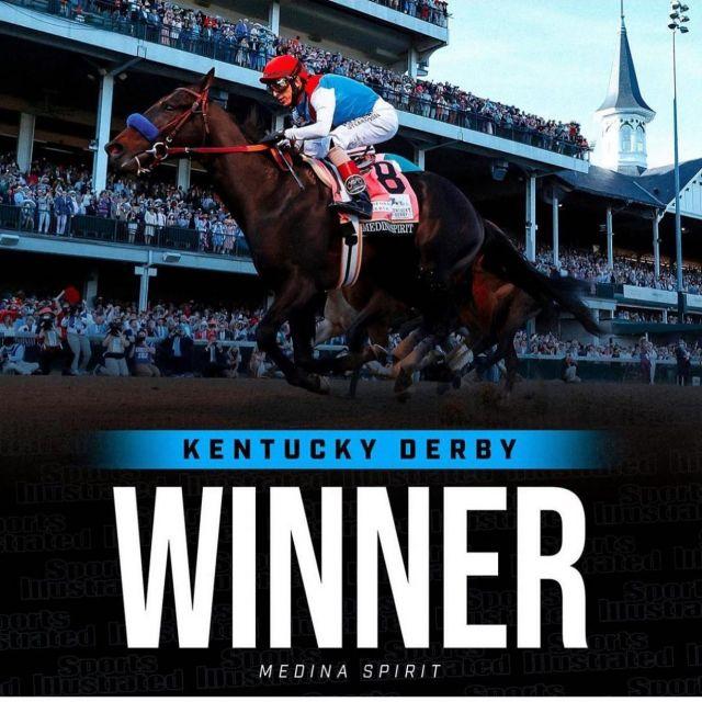 City Racing congratulates Amr Zedan and  @zedan_racing on Medina Spirit's fantastic win at the Kentucky Derby @kentuckyderby @afz74